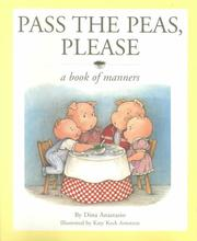 Cover of: Pass the Peas, Please