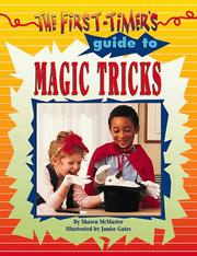 Cover of: The first-timer's guide to magic tricks