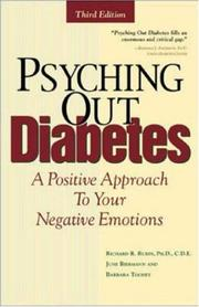 Cover of: Psyching Out Diabetes | Richard L. Rubin