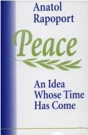Cover of: Peace
