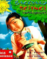 Cover of: Backyard science experiments