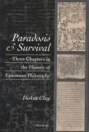 Cover of: Paradosis and Survival | Diskin Clay