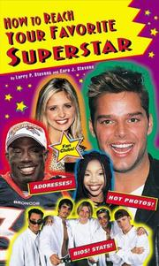 Cover of: How to reach your favorite superstar | Larry P. Stevens