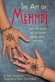 Cover of: The art of Mehndi