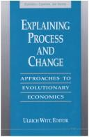 Cover of: Explaining process and change |