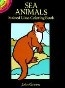 Cover of: Sea Animals Stained Glass Coloring Book