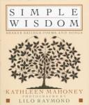 Cover of: Simple Wisdom | Kathleen Mahoney
