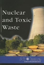 Cover of: Nuclear and Toxic Waste