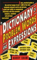 Cover of: Dictionary of Problem Words and Expression