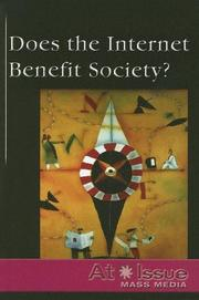 Cover of: Does the Internet Benefit Society? | Cindy Mur
