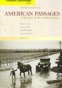 Cover of: Thomson Advantage Books: American Passages: A History of the United States, Compact Edition, Volume II | Edward L. Ayers