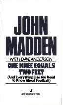 Cover of: One knee equals two feet