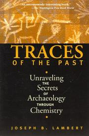 Cover of: Traces of the past | Joseph B. Lambert