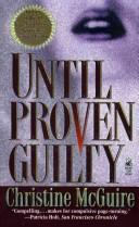 Cover of: Until Proven Guilty