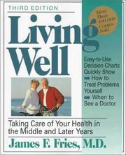 Cover of: Living Well | James F. Fries