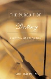 Cover of: The Pursuit of Destiny