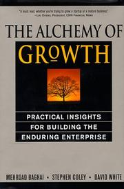 Cover of: The alchemy of growth