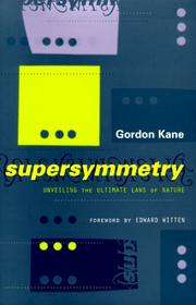 Cover of: Supersymmetry