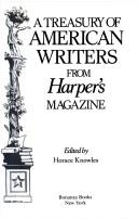 Cover of: Treasure Of American Writers Fr Harpe | Horace Knowles