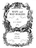 Maps and map-makers by R. V. Tooley