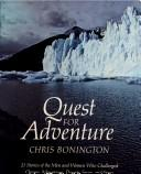 Cover of: Quest for adventure | Chris Bonington