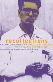 Cover of: Recollections