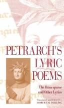 Cover of: Petrarch's lyric poems: the Rime sparse and other lyrics