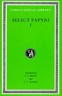 Cover of: Select Papyri |