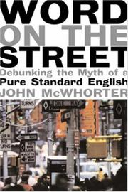 Cover of: The word on the street