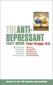 Cover of: The Anti-Depressant Fact Book