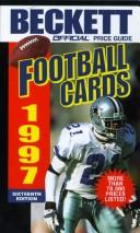 Cover of: Official Price Guide to Football Cards, 16th ed., 1997 (Official Price Guide to Football Cards)