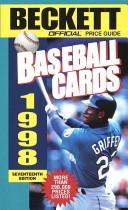 Cover of: Official Price Guide to Baseball Cards 1998, 17th Edition (Official Price Guide to Baseball Cards)