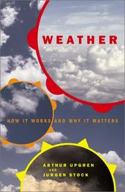 Cover of: Weather | Arthur Upgren