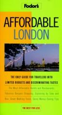 Cover of: Affordable London