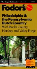 Cover of: Philadelphia & the Pennsylvania Dutch Country