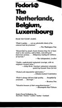 Cover of: Netherlands, Belgium, Luxembourg, The