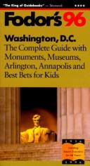 Cover of: Washington, D.C. '96