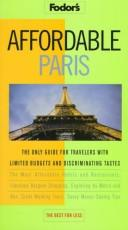 Cover of: Affordable Paris