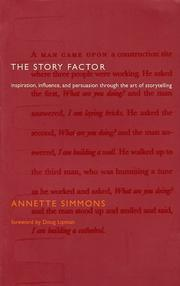 The Story Factor by Annette Simmons
