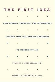 Cover of: The First Idea | Stanley I. Greenspan