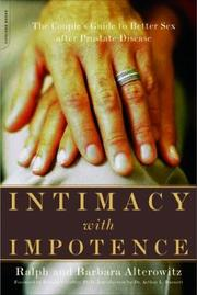 Cover of: Intimacy With Impotence | Ralph Alterowitz
