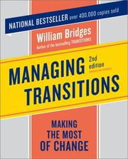 Cover of: Managing Transitions