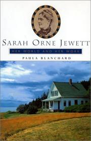 Cover of: Sarah Orne Jewett |
