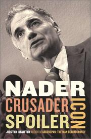 Cover of: Nader