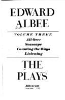 Cover of: The Plays (Plays Volume 3)