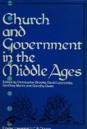 Cover of: Church and government in the Middle Ages