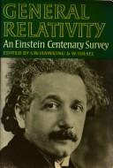 Cover of: General relativity