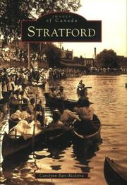 Cover of: Stratford  (CD)  (Images of Canada)