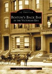 Cover of: Boston's Back Bay in the Victorian era