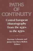 Cover of: Paths of Continuity |
